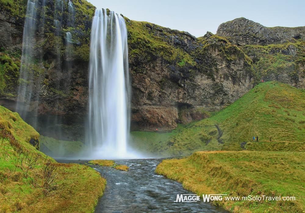 Seljalandsfoss_ 冰島瀑布