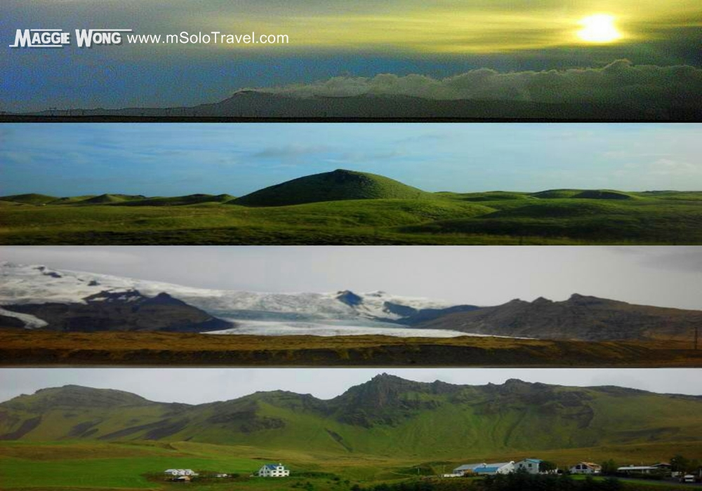 iceland_ scene on the way to south shore