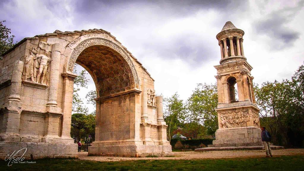 The Triumphal Arch@St Remy de Provence