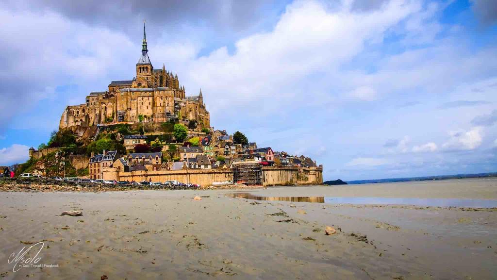 Le Mont-Saint-Michel is an island commune in Normandy