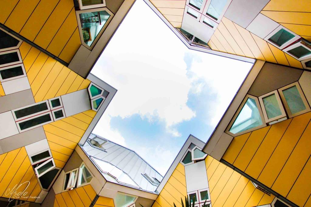 荷蘭背包之旅 rotterdam cube