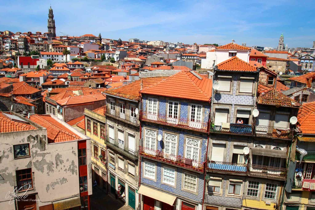 Porto~picture took from Clérigos Tower