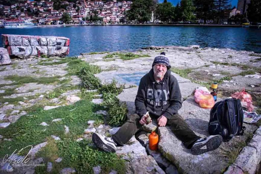 攝於馬其頓Ohrid Lake馬其頓旅遊-2
