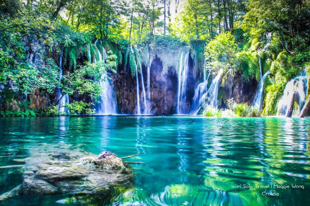 Croatia~ Plitvice is full of waterfalls