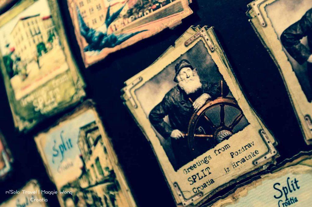 Croatia~Split's history on cards