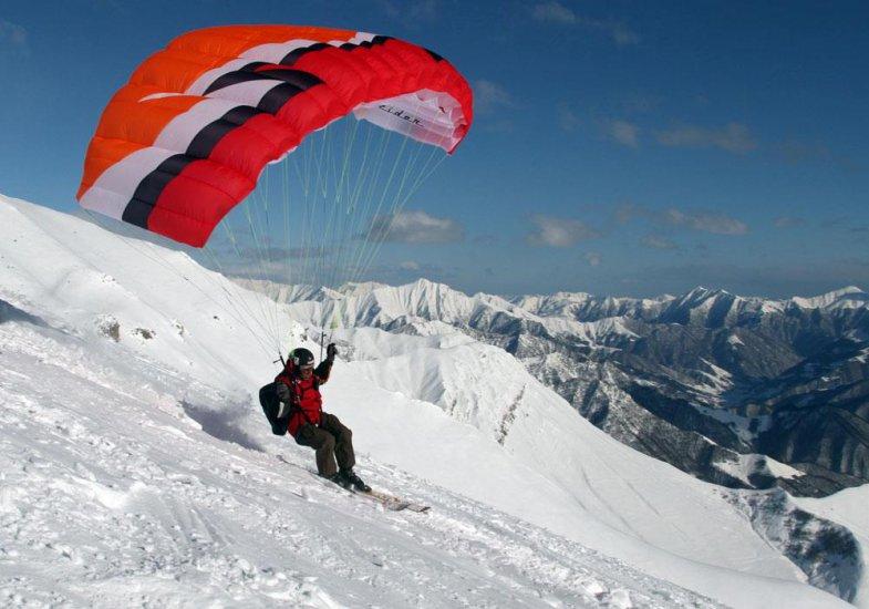 Gudauri Ski Paragliding