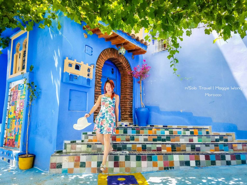 Morocco blue city Chefchaouen